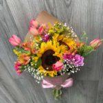 Ramo de Girasoles & Tulipanes