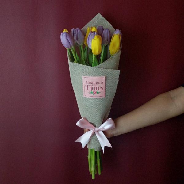 Ramo de Tulipanes Cielo