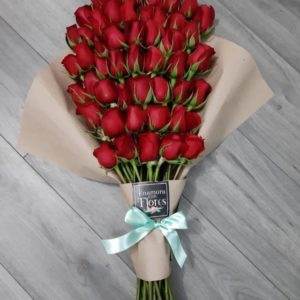 Ramo de 50 rosas Abanico