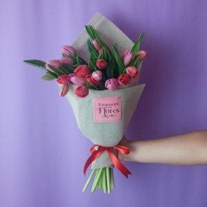 Ramo de Tulipanes Amor