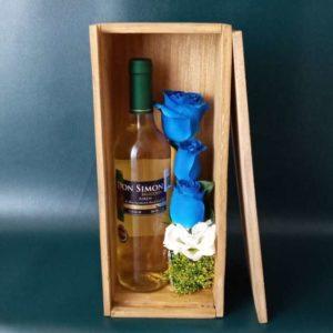 Caja con Vino