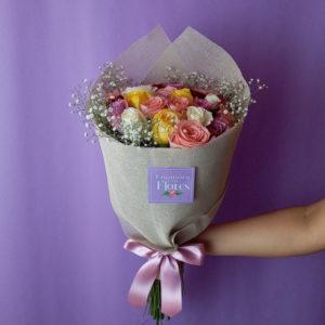 Ramo de Rosas Baby Pink