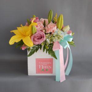 Mini Caja Rosas & Lilies